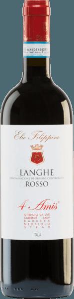 4 Amis Langhe Rosso DOC 2015 - Elio Filippino