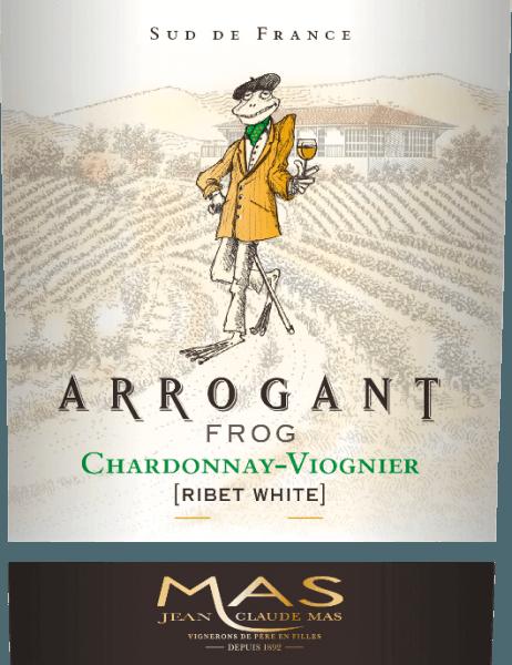 Arogantní Frog 's Ribet Blanc je hedvábná francouzská bílá vinná kupáž vyrobená z odrůd Chardonnay (70%) a Viognier (30%). Ve sklenici se toto víno objevuje v bohaté zlatožluté barvě se zelenavými nuancemi. Toto francouzské bílé víno zaujme elegantním nosem, který kombinuje ovocnou vůni tropického ovoce, jako je ananas a broskev, a čerstvé citrusové plody s nádechem vanilky. Ovocné vůně nosu se také odrážejí na patře. Hedvábné, čerstvé tělo je podpořeno krásně vyváženou kyselostí. Toto víno končí dlouhým ozvěnem. Vinifikace Ribet Blanc Chardonnay Viognier Arogant Frog Po sklizni hroznů je sklizený materiál nejprve zcela odříznut ve vinném sklepě. Obě odrůdy hroznů pro toto víno se vinifikují odděleně. Mošt je fermentován v nerezových nádržích při kontrolované teplotě (max. 18 stupňů Celsia) po dobu cca 3 týdnů. 30% Chardonnay zraje v dubových sudech - zbývajících 70% a Viognier zůstává v nerezových nádržích. Doporučení k jídlu pro arogantní žábu Chardonnay Viognier Vychutnejte si křupavou zeleninu, sushi, středomořské mořské plody a rybí pokrmy, bílou drůbež, ovocné dezerty a asijskou kuchyni. Ocenění pro Ribet Blanc Arogantní žábu Mundus Vini: stříbro pro rok 2017 Mundus Vini: zlato pro rok 2016