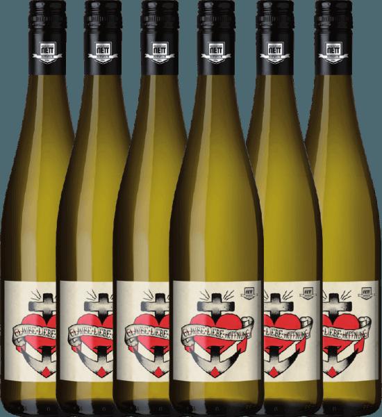 6er Vorteils-Weinpaket - Glaube-Liebe-Hoffnung Riesling 2020 - Bergdolt-Reif & Nett