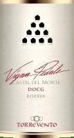 Náhled: Vigna Pedale Castel del Monte Riserva DOCG 2015 - Torrevento