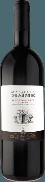 Masseria Maime Salento IGT z Tormaresca je jedním z nejlepších vín vinařství. Negroamaro Masseria Maime se objevuje ve sklenici v intenzivní rubínově červené, na nose květinová vůně mrtvá růžemi a fialkami, čerstvé tmavé ovoce, jako jsou černé třešně, moruše, následované kořeněnými tóny připomínající anýz lékořice, skořice a hřebíčky. Na patře je toto nádherné červené víno z Puglie bohaté na ovoce, elegantní s vyváženými, měkkými a sametovými tříslovinami. Povrchová úprava je dlouhá, hustá a odolná. Vinifikace Masseria Maime Salento IGT Tormaresca Pro tento čistý Negroamaro, hrozny jsou sklízeny plně zralé ručně na konci září. Po lisování následuje macerace a alkoholové kvašení na skořápkách po dobu 15 dnů při kontrolované teplotě 26 ° až 28° C. Skořápky se opakovaně jemně přečerpávají speciální technikou, která umožňuje velmi jemnou a rovnoměrnou extrakci barev, aroma a tříslovin. Po odstranění slupek se víno ihned převede do francouzských dubových bariér, kde probíhá malolaktické kvašení a poté zrání po dobu 12 měsíců. Po plnění víno v lahvi dozrává dalších 18 měsíců, než se prodá. Doporučení k jídlu pro Tormaresca Masseria Maime Salento IGT Vychutnejte si toto jemné a ovocné červené víno z Puglie s typickými regionálními pokrmy, orecchiette s chutnými mletými masovými omáčkami nebo tradiční čekankou, grilovaným, červeným a tmavým masem, zralými a kořeněnými sýry. Ocenění pro Masseria Maime Salento IGT Tormaresca Gambero Rosso: 2 červené brýle pro rok 20123; 3 brýle pro rok 2012 Bibenda: 5 hroznů na rok 2013, 4 hrozny na rok 2011 Falstaff: 90 bodů za rok 2013, 92 bodů za rok 2011 Vinařský nadšenec: 91 body za rok 2012 Wine Spectator: 90 body za rok 2012 James Suckling: 90 body za 2012 Vinný advokát Robert M.Parker: 90 bodů za rok 2012; 92 bodů za rok 2011 Veronelliho průvodce: 3 hvězdičky pro rok 2012 a 2011 I Vini Buoni d 'Italia: 4 hvězdičky pro roky 2012 a 2011 Luca Maroni: 90 body za rok 2011