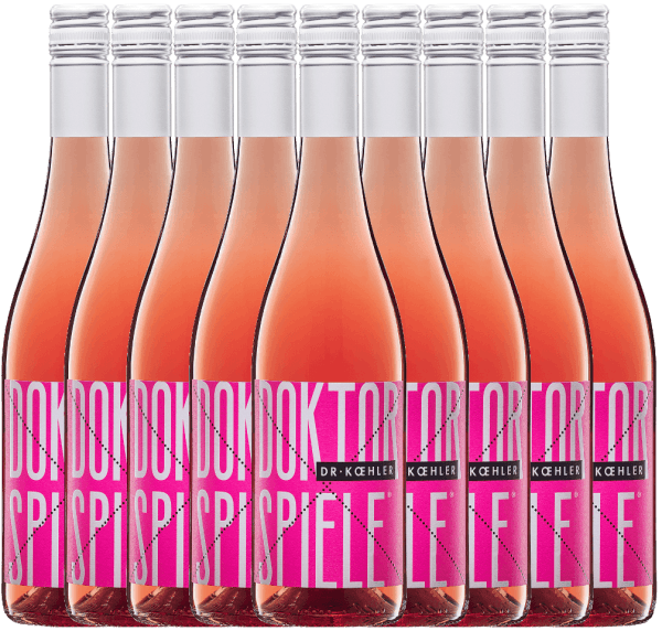 9er Vorteils-Weinpaket - Doktorspiele Rosé 2020 - Dr. Koehler