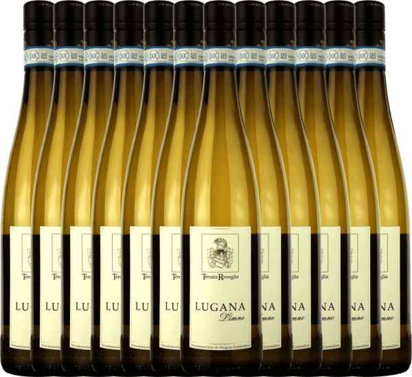 12er Vorteils-Weinpaket - Limne Lugana DOC 2020 - Tenuta Roveglia