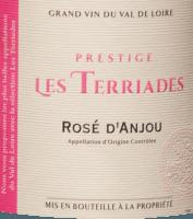 Náhled: Rosé d'Anjou Les Terriades AOC 2020 - Les Caves de la Loire