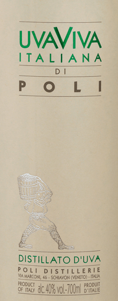 DerUva Viva Italiana di Poli von Jacopo Poli ist ein frischer, lebendiger Traubenbrand, der aus den Rebsorten Malvasia (60%) und Moscato (40%) destilliert wird. Im Glas präsentiert sich dieser Brand in einer klaren, transparenten Farbe. Das feinfruchtige Bouquet ist von intensiven Noten nach reifen Aprikosen, saftigen Birnen und blumigen Anklängen nach Orangenblüten geprägt. Am Gaumen überzeugt dieser italienische Traubenbrand mit einer frischen Textur und lebendigen Körper. Destillation des Uva Viva Italiana di Poli Die Malvasia und Moscato Trauben werden zuerst in Edelstahltanks bei kontrollierter Temperatur vergoren. Danach wird dieser Wein mit den Trauben zusammen traditionell in alten Kupferbrennkesseln destilliert. Nach dem Brennvorgang hat dieser Traubenbrand noch 75 Vol%. Durch die Zugabe von destilliertem Wasser erreicht der Uva Viva Italiana di Polieinen Alkoholgehalt von 40 Vol%. Danach ruht dieser Traubenbrand für mindestens 6 Monate in Edelstahltanks, um abschließend sanft filtriert auf die Flasche gefüllt zu werden. Servierempfehlung für denUva Viva Italiana di Poli Jacopo Poli Genießen Sie diesen Traubenbrand aus Italien bei einer Temperatur von 10 bis 15 Grad als Digestif nach einem köstlichen Menu oder auch zu Desserts, wie Aprikosen-Tarte.