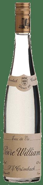 """Ursprünglich kreierte der Engländer John Stair den aromatischsten aller Birnenbrände. Die Engländer zogen jedoch den Namen """"Williams' bon chrétien"""" vor, den ihr ein Obstbauer verliehen hatte. Die Birne, die im überreifen Zustand destilliert wurde, beeindruckt mit besonders intensiver Fruchtigkeit und einem feinen Hauch von Vanille."""