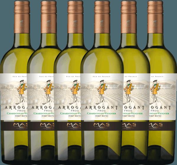 6er Vorteils-Weinpaket - Ribet Blanc Chardonnay Viognier 2020 - Arrogant Frog