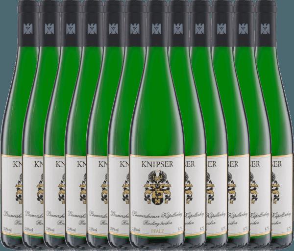 12er Vorteils-Weinpaket - Laumersheimer Kapellenberg Riesling 2020 - Knipser